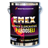 "Chlorinated rubber paint for floor ""Emex"""