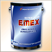 "High covering shiny enamel ""Emex"""
