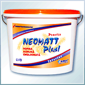 "Practical interior washable paint ""Neomatt Plus"""