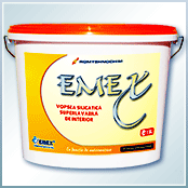 "Interior washable silicate paint ""Emex"""