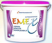 "Super-washable Interior Emulsion Paint ""Emex"""