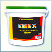 "Brushed decorative plaster ""Emex"""
