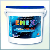 "Decorative impermeable plaster ""Emex Aqua Protect"""