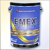"Golden metallic paint ""Emex"""